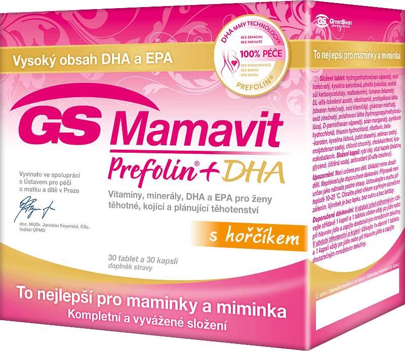 GS Mamavit Prefolin+DHA+EPA tbl/cps 30+30 2016