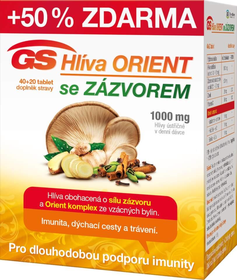 GS Hlíva Orient se zázvorem tbl.40+20