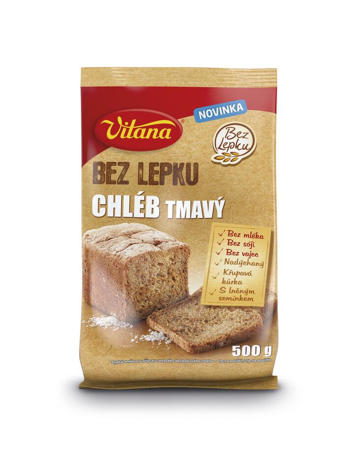 Bez lepku Chléb tmavý Vitana 500g