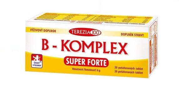 B-komplex Super Forte tbl.20
