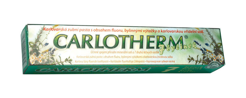 Carlotherm 7 bylinek zubní pasta 100ml