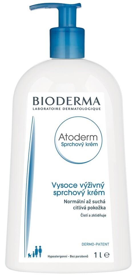 BIODERMA Atoderm Sprchový krém 1l Nakupte 3 produkty řady Bioderma Atoderm a zaplaťte pouze za 2. Akce platí na e-shopu do 31. 10. 2017 nebo do vyprodání zásob.
