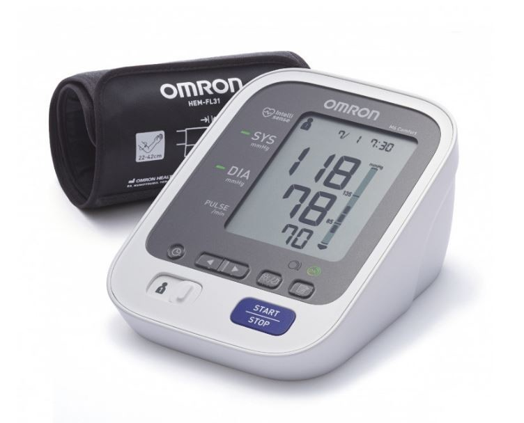 Tonometr OMRON M6 Comfort intelli+5l.zár.(CELIMED)