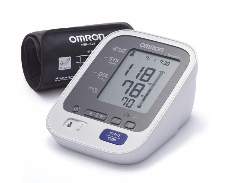Tonometr OMRON M6 Comfort intelli+5l.zár.(CELIMED)