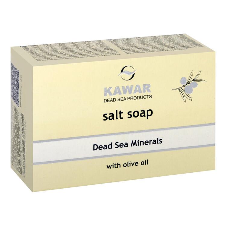 KAWAR Mýdlo se solí a minerály z Mrtvého moře 120g