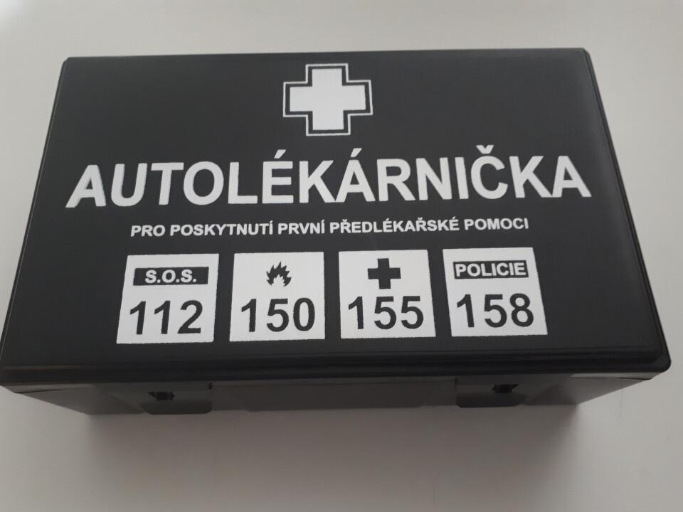 Autolékárnička vyhl.č.206/2018 provedení plast