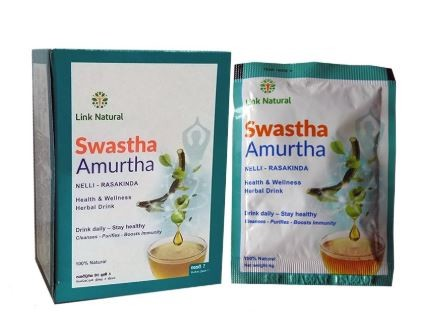 Link Natural Swastha Amurtha bylinný nápoj sáčky 7x4g