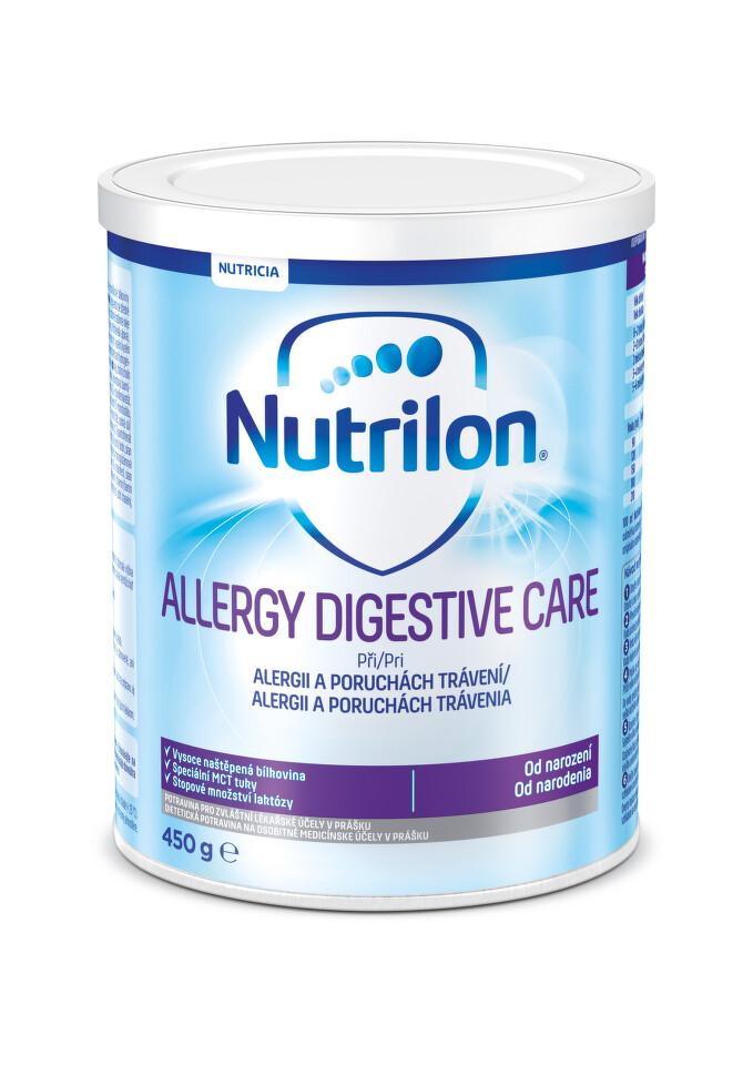 NUTRILON 1 ALLERGY DIGESTIVE CARE perorální SOL 1X450G
