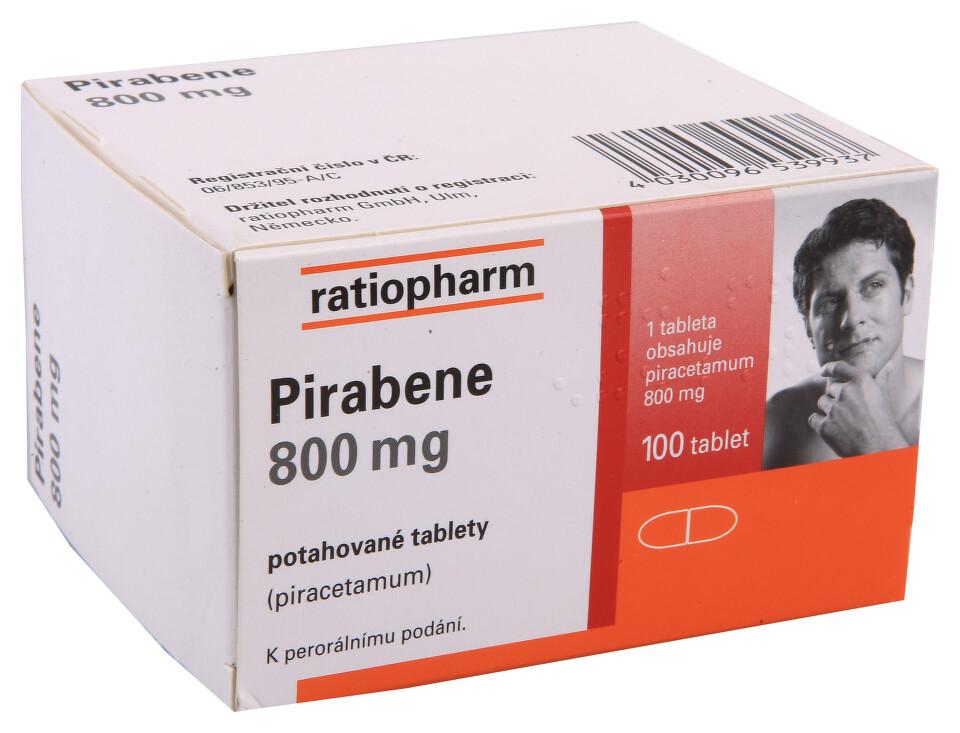 PIRABENE 800MG potahované tablety 100