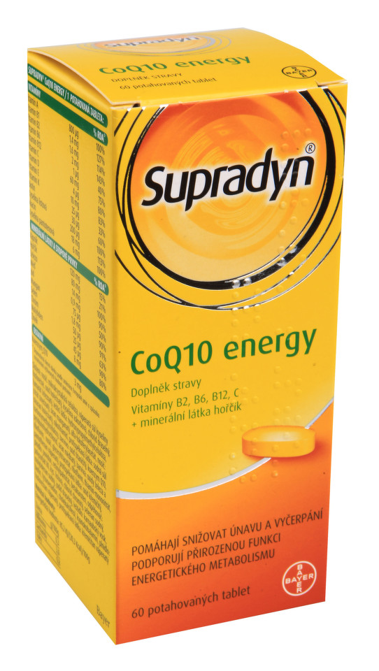 Supradyn CO Q10 Energy tbl.60