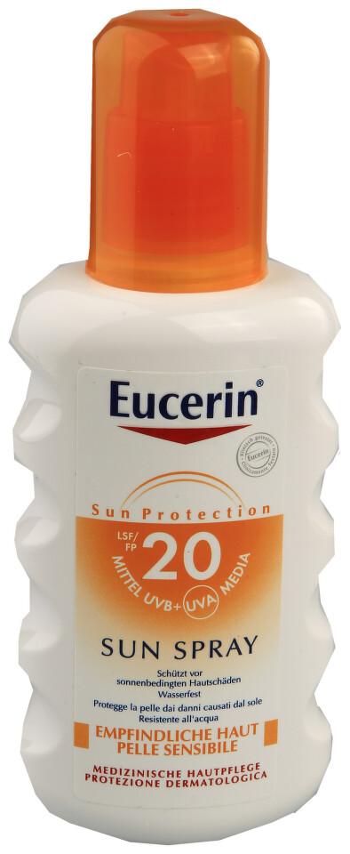 EUCERIN SUN SPF20 Sprej na opalování 200ml