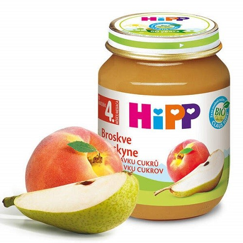 HiPP OVOCE BIO Broskve 125g