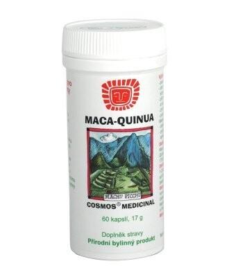 Dr.Popov Maca Quinua pro růst svalové hmoty cps.60