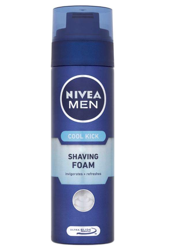 NIVEA FOR MEN hol. pěna COOL KICK 200ml 81765