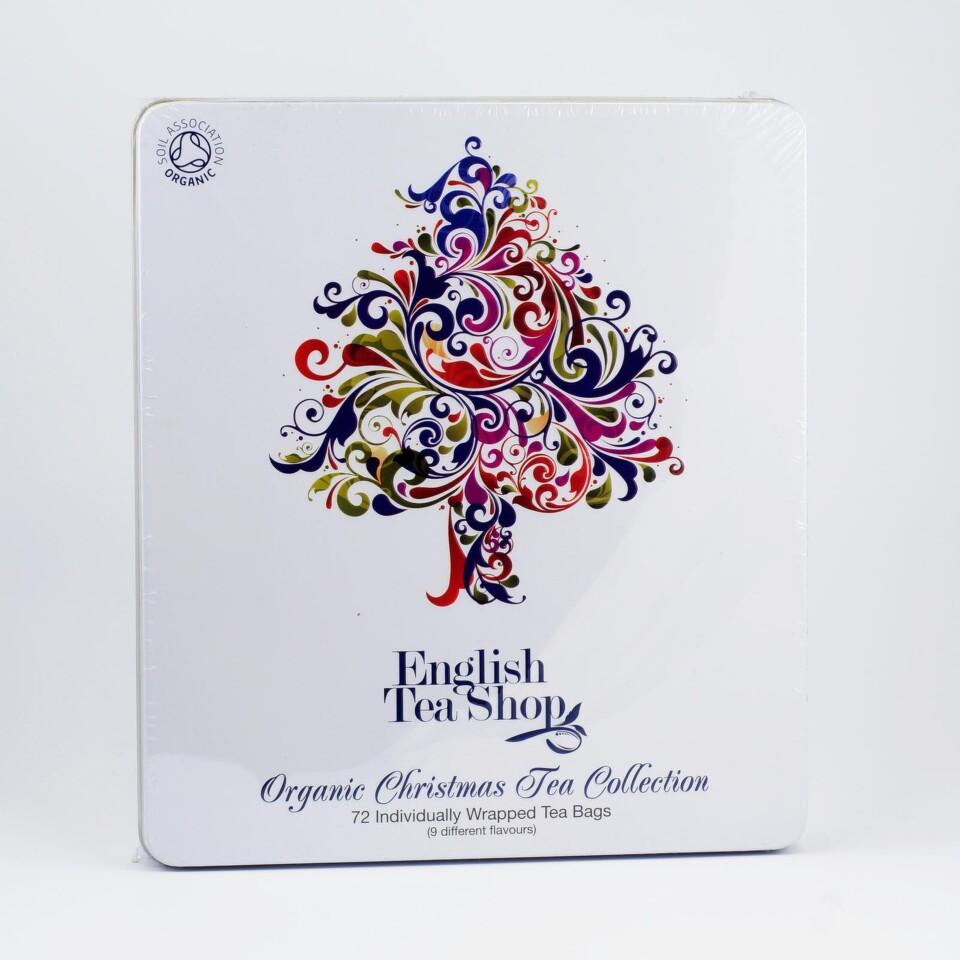 English Tea Shop Bio Plech. Vánoční strom 72 sáčků