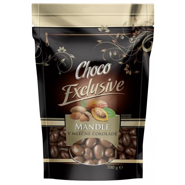 Mandle v mléčné čokoládě DOYPACK 700g