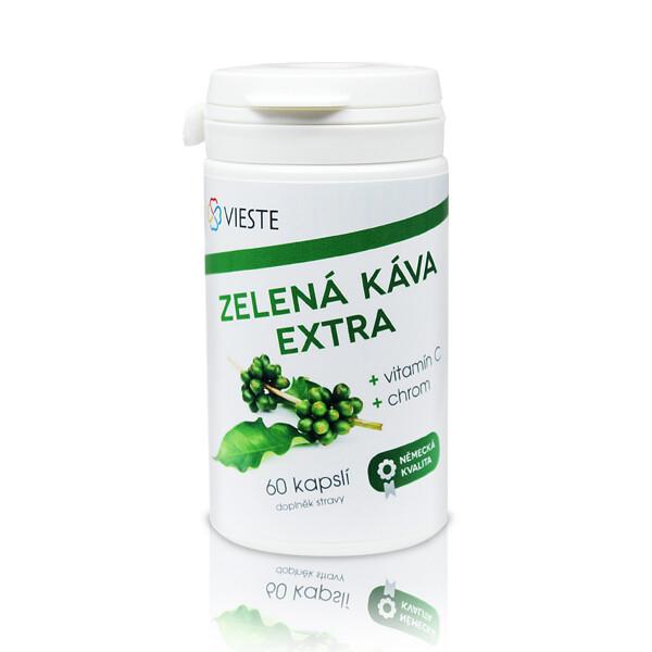 Vieste Zelená káva Extra cps.60