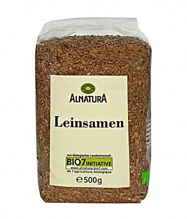 Alnatura Lněná semínka BIO 500g