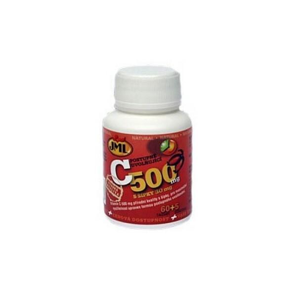 JML Vitamin C tbl.65x500mg post.uvol.s šípky
