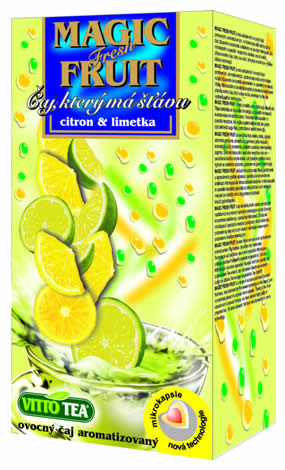 VITTO Magic Fruit Citron+Limety se šťávou n.s20x2g