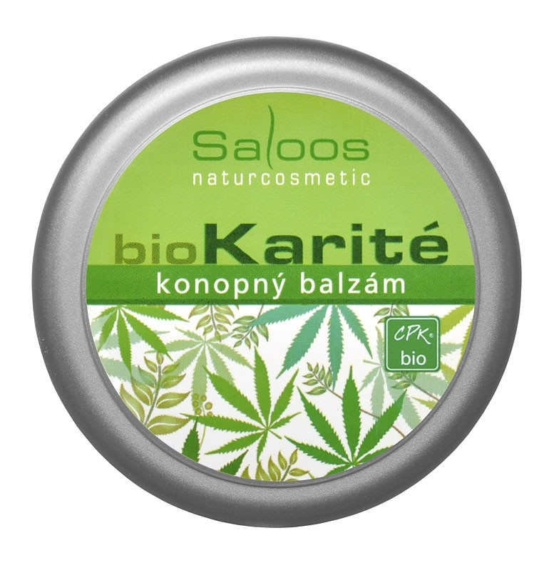 bio Karité konopný balzám 50ml