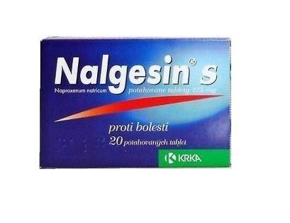 NALGESIN S 275MG potahované tablety 20X1 II
