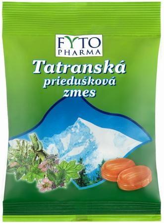 FYTOPHARMA Tatranská průduš.směs Bylinný drops 60g