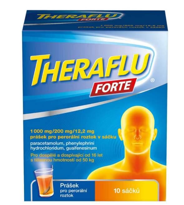 THERAFLU FORTE 1000MG/200MG/12,2MG perorální PLV SOL SCC 10