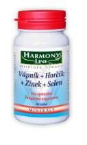 Harmony Line Vápník+Hořčík+Zinek+Selen tbl.60