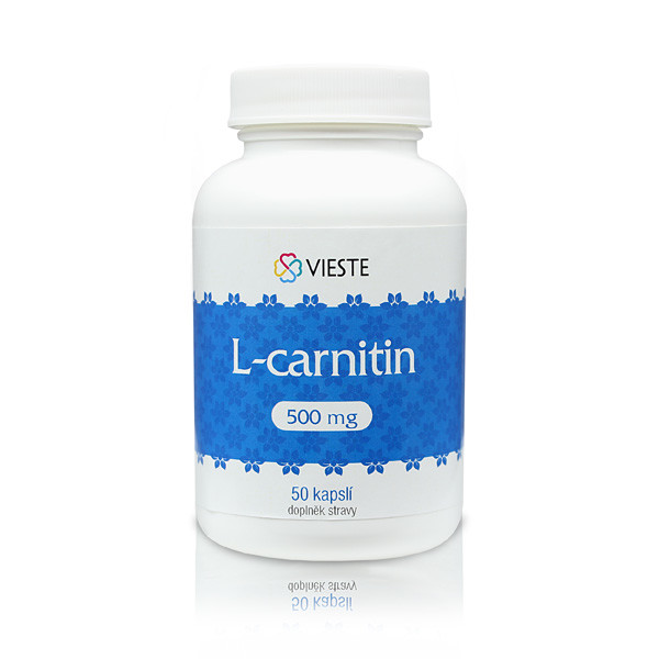 Vieste L-carnitin 500mg tbl.50