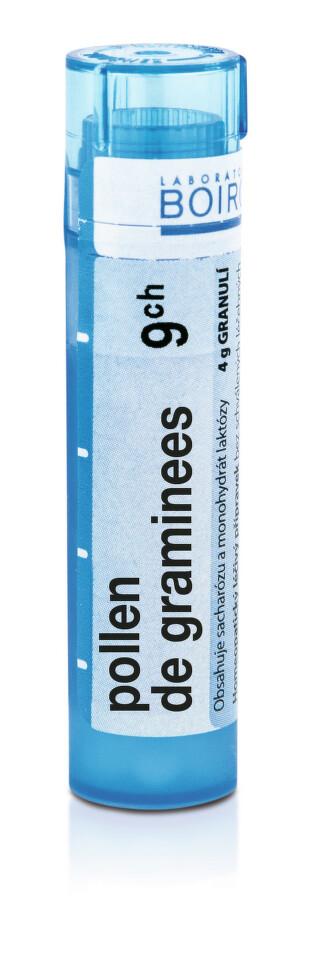 POLLEN DE GRAMINEES 9CH granule 4G