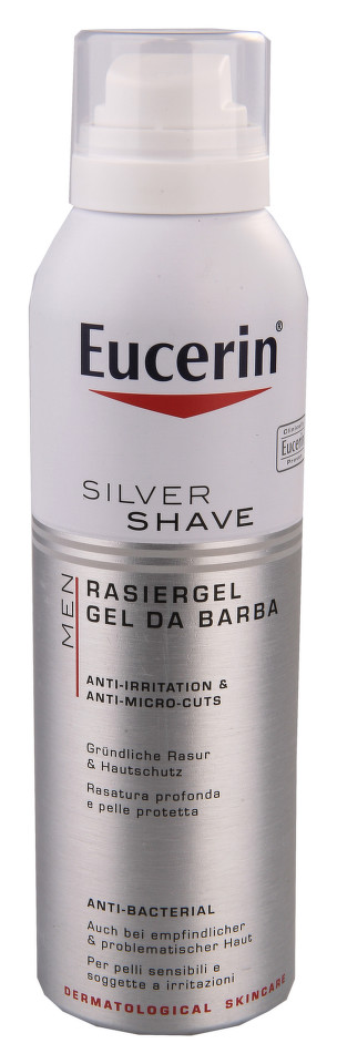EUCERIN MEN Gel na holení SILVER SHAVE 150ml