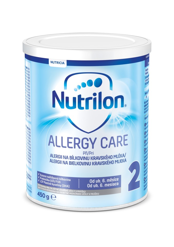 NUTRILON 2 ALLERGY CARE perorální SOL 1X450G