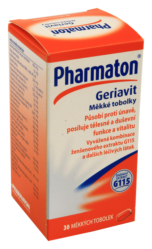PHARMATON GERIAVIT perorální měkké tobolky 30