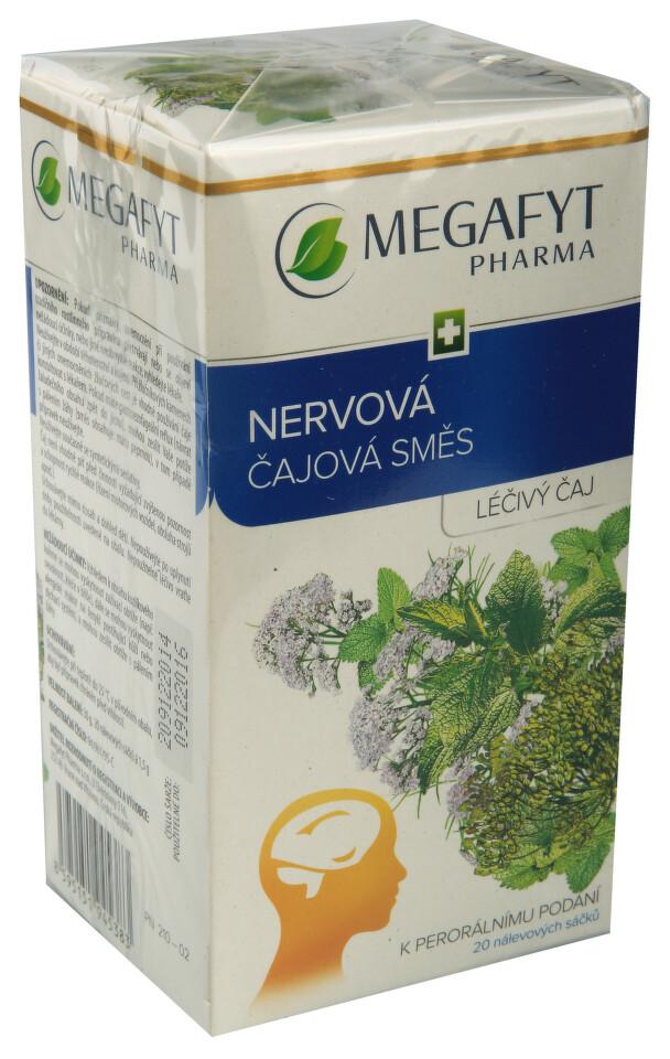 Megafyt nervová čajová směs por.spc.20x1.5g I