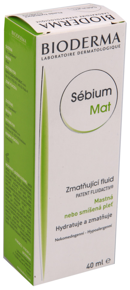 BIODERMA Sébium Mat gel krém 40ml