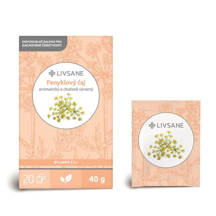 LIVSANE Čaj fenyklový 20 sáčků
