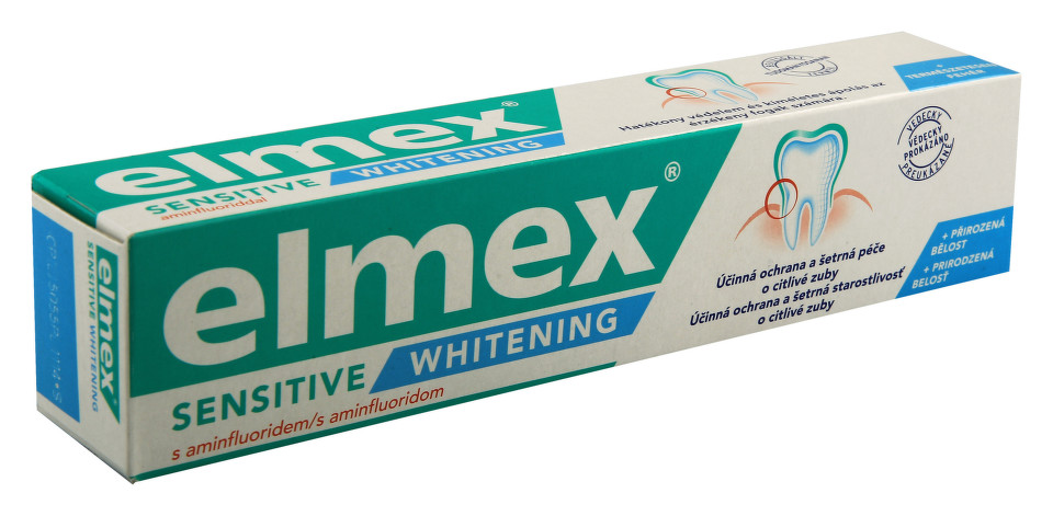 Elmex Sensitive Whitening zubní pasta 75ml
