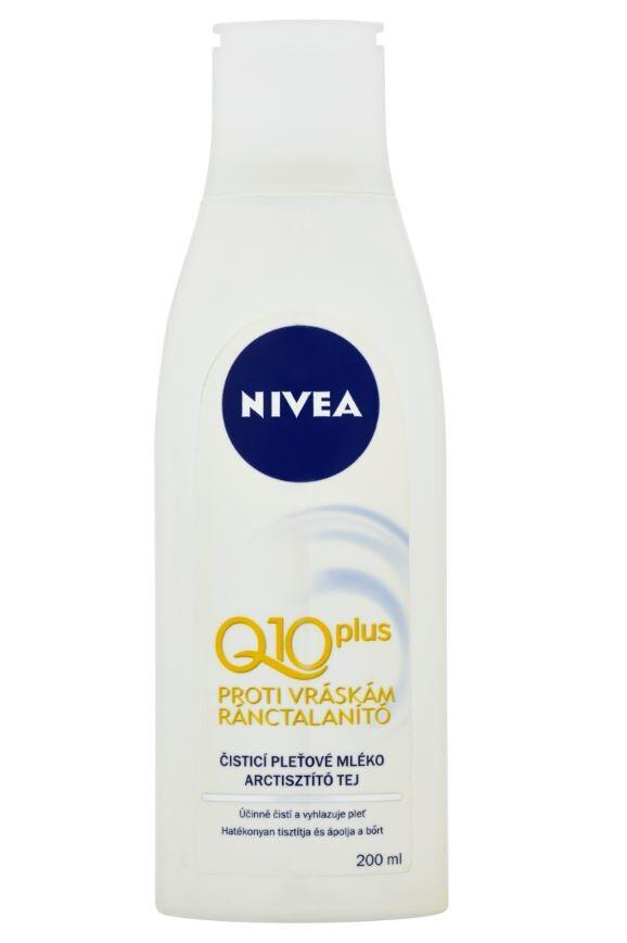 NIVEA Visage čist.pleť.mléko Q10-vrásky 200ml81960