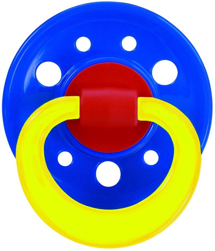 BABY NOVA Dudlík latex kulatý barevný 23001 vel.1