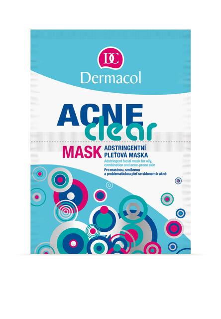 Dermacol Acneclear maska problematická pleť 2x8g