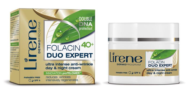Lirene Folacin Duo Expert 40+ denní/noční 50 ml