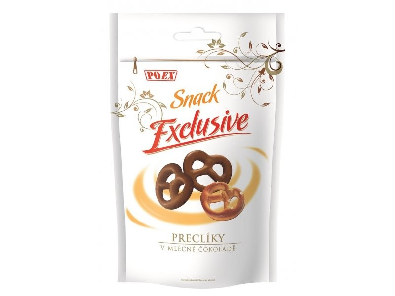 Preclíky v mléčné čokoládě 250g