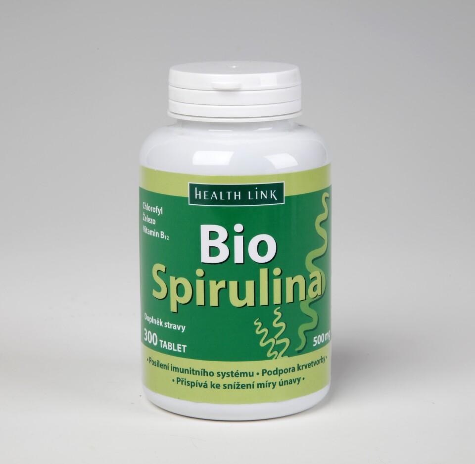 Bio Spirulina 500mg tbl.300 Sleva 10 % platí na e-shopu do vyprodání zásob