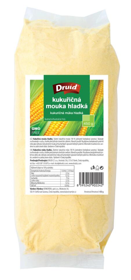 Kukuřičná mouka hladká DRUID 450g