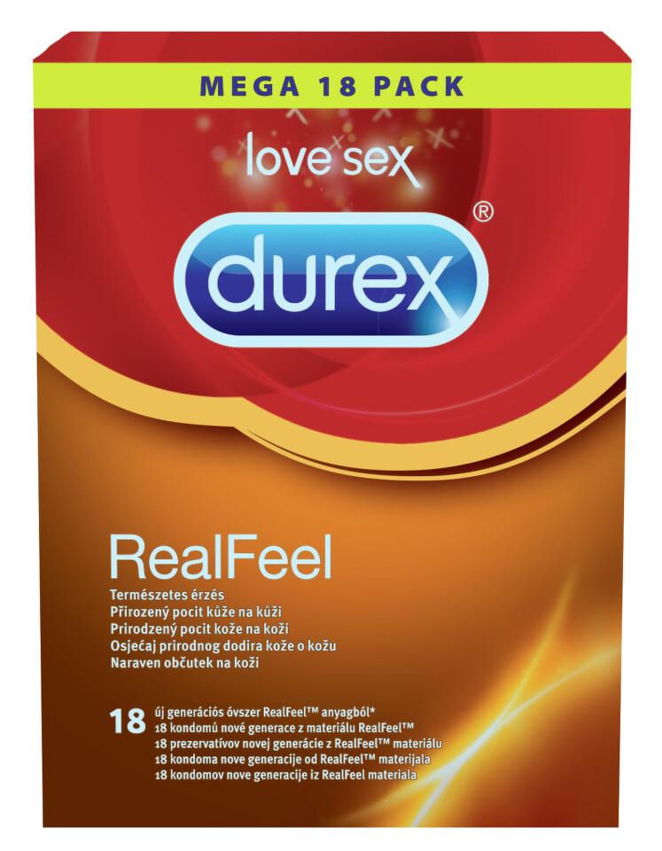 Prezervativ DUREX Real Feel 18 ks