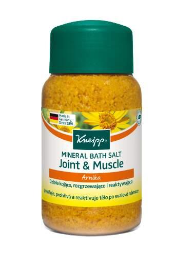 KNEIPP Sůl do koupele Svaly a klouby 500g