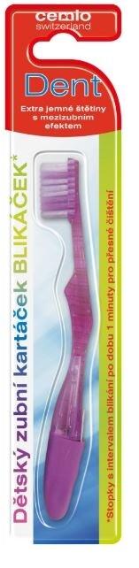 Cemio Dent Blikáček dětský zubní kartáček