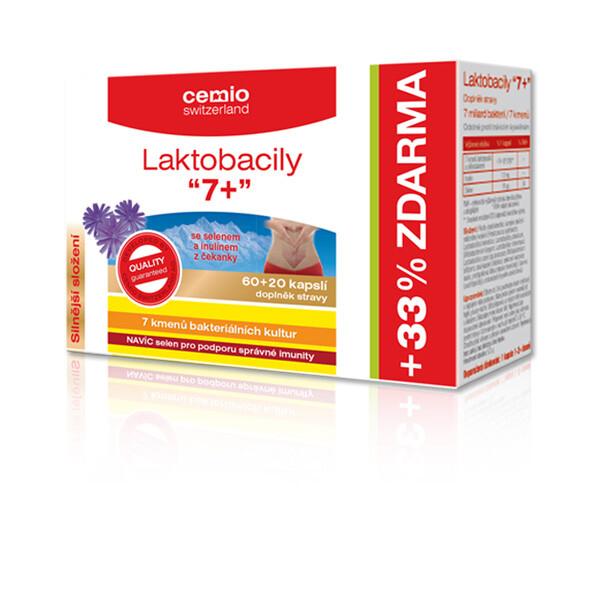 Cemio Laktobacily 7+ cps.60+20