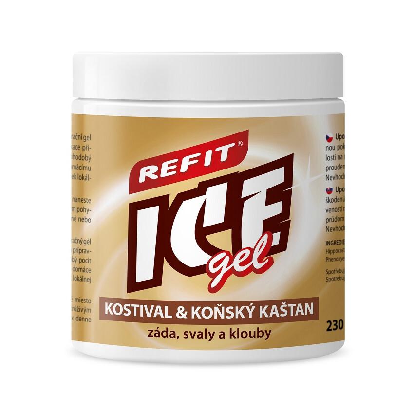 Refit Ice gel s kostivalem 230ml hnědý